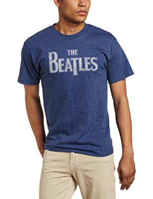 FEA Merchandising Men's The Beatles Vintage Logo T-Shirt