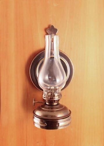 Antique Brass Mini Lantern 5.75 Oil Lamp