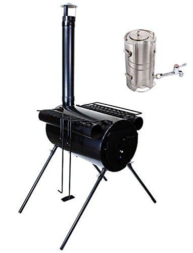 ice fishing wood stove - 9