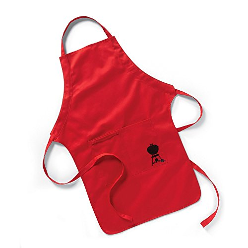 Weber Apron, Red (Weber Barbecue Apron)