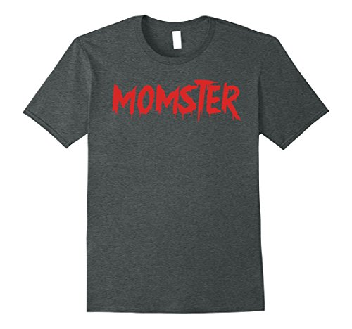 Easy Costumes (Mens Momster Funny Halloween T-Shirt for Easy Mom Costume XL Dark Heather)