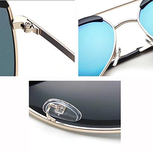 Color Sol Gafas Montura Hembra Masculino Polarizada WX xin T3 Gafas De Hormiga Grande T1 De Hipster Gafas Irregulares Luz q7aYI