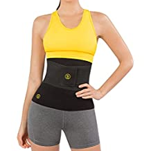Hot Shapers Hot Belt with Instant Trainer – Slimming Neoprene Body Sweat Waist Trimmer for Weight Loss