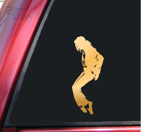 Michael Jackson Silhouette Vinyl Decal Sticker (6