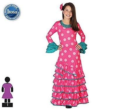 Atosa 26537 - Flamenco, rosa, muchacha Tamaño 140, rosa: Amazon.es ...