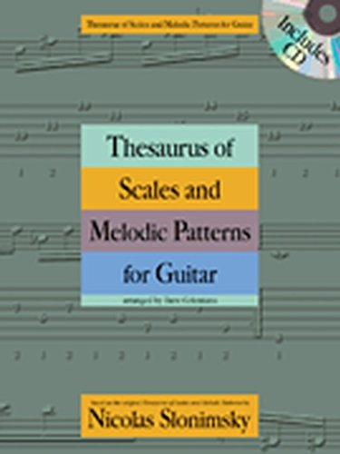 Hal Leonard Thesaurus of Scales and Melodic Patterns for Guitar