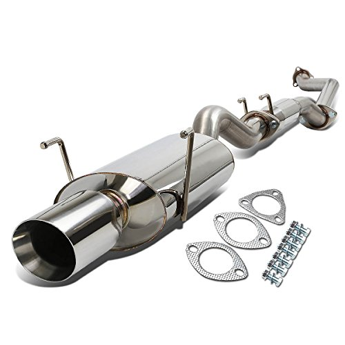DNA Motoring CBE-OE-ARSX-S-NRT Stainless Steel Catback Exhaust ()
