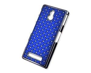 Spot Diamond Series Sony Xperia P Crystal Case LT22i - Blue