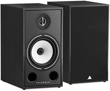 triangle HiFi Bookshelf Speakers – Borea BR03, Black Ash, Pair