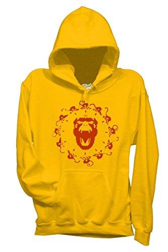 Sweatshirt 13 Monkeys Army - FILM by Mush Dress Your Style
