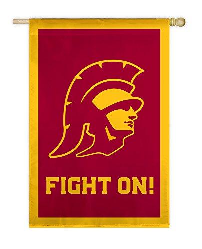 (Team Sports America USC Trojans Applique House Flag, 29 x 43 inches)