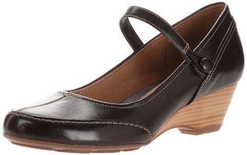 Clarks - Zapatos de Vestir de cuero Mujer negro - Noir (Black Leather)