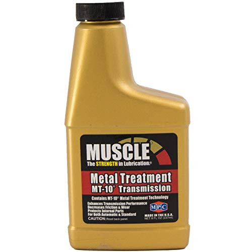 - Muscle Metal Treatment MT-10 Transmission, 8 Fluid Ounces, Anti-Friction Lubricant Additive