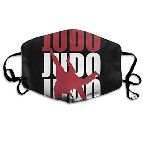 Judo Spirit and Charm Mouth Mask Unisex Printed Fashion Face Mask Anti-dust Masks