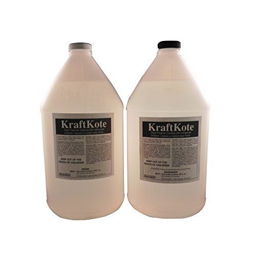 KraftKote Bar and Tabletop Kit - 4 Gallons by Klockit