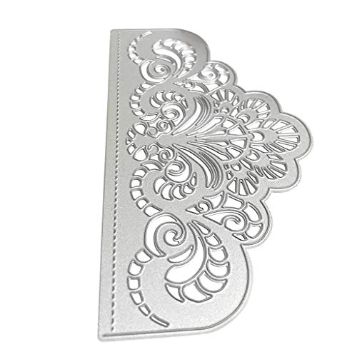 RGBIWCO - Cutting Dies Stencil Metal Mould Template for DIY Scrapbook Album Stamp Paper Card Embossing Crafts Decor - Flower