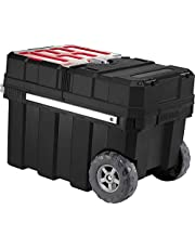 Keter Master Pro Masterloader 17191709 Tool Trolley Plastic Black/Red