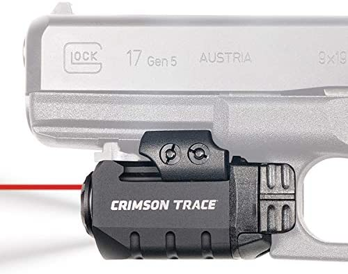 Crimson Trace CMR-205 Rail Master Pro Universal Red Laser Sight + Tactical Light
