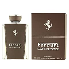 Essence Ferrari Leather is a Leather fragrance for Men fragrance family. Leather Essence was launched in 2013. The nose behind this fragrance is Alexandra Carlin. The notes are bitter orange, bergamot and cloves; Heart notes are leather, tonk...