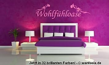 XXL Wandtattoo fürs Schlafzimmer ~ Text: Wohlfühloase, Spruch mit ...