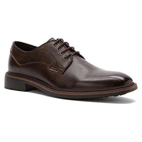 RW by Robert Wayne Mens Aries Dark Brown Shoe