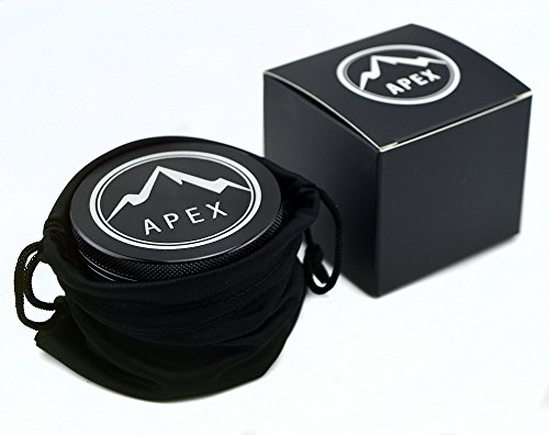 Herb Grinder Apex Premium 4 Piece With Pollen Catcher 2.5 Inch 4 piece grinder Top Rated Herb Grinder Includes carrying case and pollen scraper (Champagne Platinum) 2 <p>GET THE MOST OUT OF YOUR HERBS, WITH THE UNIQUE ATTENTION GRABBING STYLE OF AN APEX PREMIUM-QUALITY HERB GRINDER TODAY FREE Shipping - Lifetime Warranty - Order Now Save Money by Conserving Your Herbs - Using the newest in CNC technology, our blades are the sharpest and most effective of any grinder ever made giving you a slower burning, longer lasting herbal experience. Pump Up the Potency - Our strong steel screens are perfect for collecting the finest pollen, and increasing the potency of your herbs. We even include a pollen scraper to maximize pollen collection. World's Smoothest Grinding Experience - The magnetic top and friction reducing ring to allow for the smoothest grinding experience possible. Built to Last a Lifetime - Apex grinders are made from the highest quality aircraft grade aluminum making them tougher, and more durable than other grinders. Lifetime Warranty and FREE Shipping - If for any reason you're unsatisfied with your Apex Premium-Quality Herb Grinder, you can send it back for a full refund. No questions asked.</p>