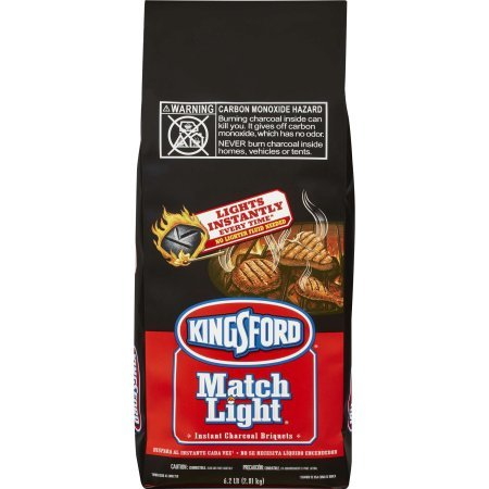 Kingsford Match Light Charcoal Briquettes, 6.2 lbs - 2 Pack by