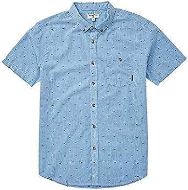 Billabong Boys All Day Jaquard Short Sleeve Shirt