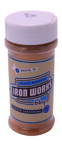 Iron Works BBQ Burger Seasoning - 1 (Iron Works Bbq)