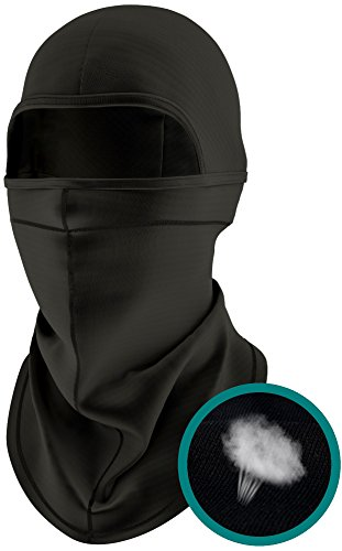 Balaclava - Windproof Ski Mask - Motorcycle Mask Mens & Womens – Winter Helmet Skilling Masks with Long Neck Warmer– Cold Weather Balaclava Hood - Thermal Breathable Fleece - Adult (Full Mask Face Thermal)