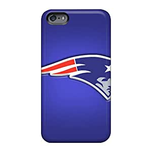 Perfect Cell-phone Hard Cover Apple Iphone 6 (ZTW31728XQRm) Provide Private Custom Realistic England Patriots Skin