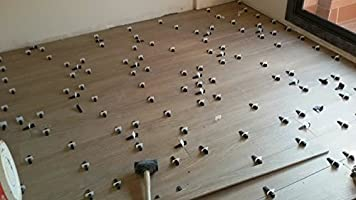 Most Precise and Reliable Product on The Market. The Strongest Peygran Tile Leveling System 100 Clips 2MM 1//16 Lippage Free Tile and Stone Installation for Pro and DIY