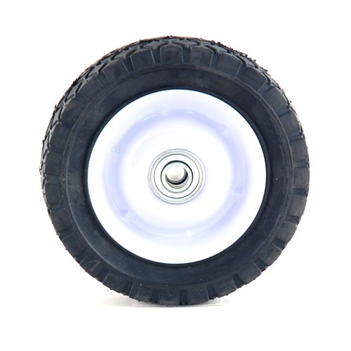 Arnold 6-Inch Steel Wheel with Diamond Tread - 50lb. Load-Rating