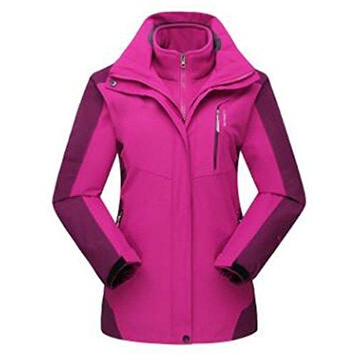 Pezzi Due Peluche Winter Purple In Giacche Alpinismo Caldo Una Tre Felpa Woman t8RErx8