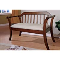 247SHOPATHOME Idf-BN6681 Benches, Walnut