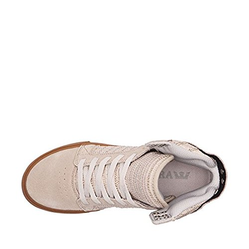 77fb4bfe2ce ... very cheap online Supra Women's Skytop Sneaker Tan - Gum 100% authentic  discount clearance store