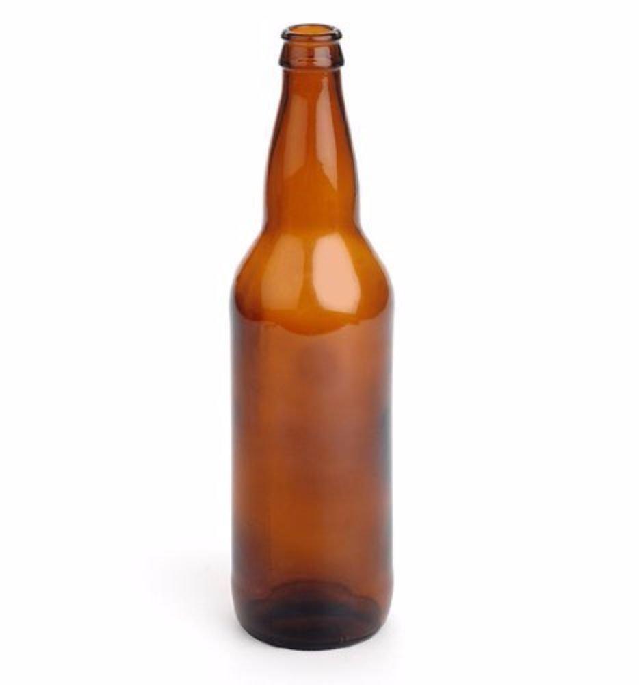 E.C. Kraus Beer Bottles, Amber, 12 oz. COMINHKPR28026