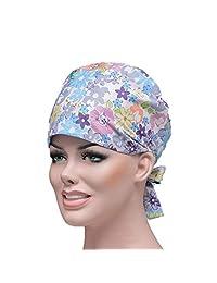 Scrub Cap Hat Cotton Doctor Nurse Scrub Cap Surgical Hat Unisex One Size