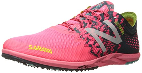 New Balance Women's 5000v3 Track Spike Running Shoe, Pink/Black, 9.5 B US by New Balance