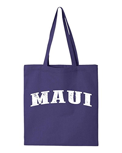 Ugo Maui Hawaii Travel Guide Flag What to do in Hawaii? Beaches Near Me Hawaiian Time Tote Handbags Bags Work School Travel
