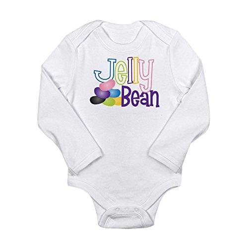 CafePress - Jelly Bean Long Sleeve Infant Bodysuit - Cute Lo