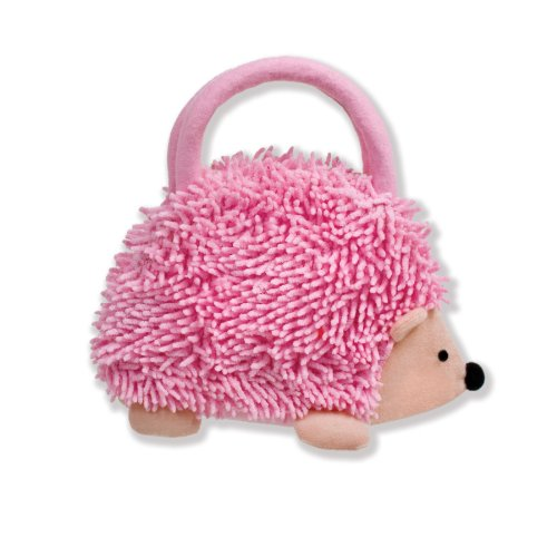 North American Bear Company Hedgehog Goody Plush Bag, Pink - North American Bear Handbag