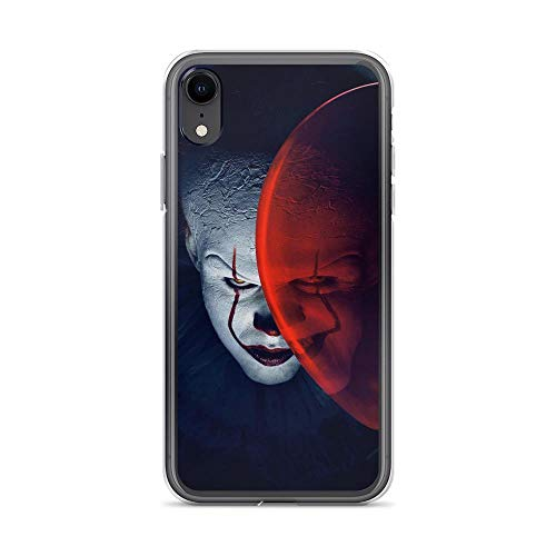 iPhone XR Pure Clear Anti-Shock Cases IT Halloween Joker -