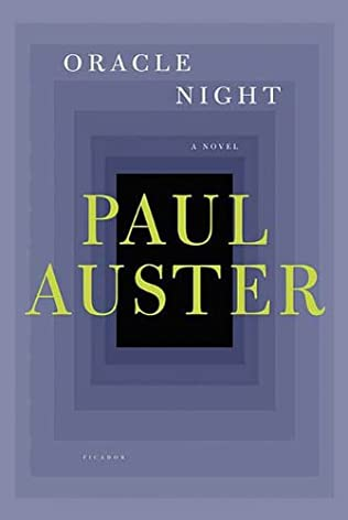 book cover of Oracle Night