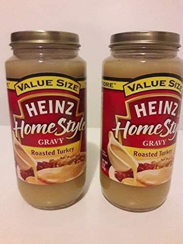 HEINZ HOMESTYLE Roasted Turkey Gravy, 18 oz (2 packs)