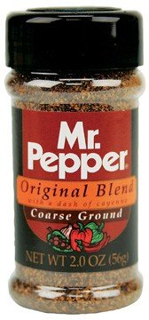 Tone's Mr. Pepper Original 2 oz (Pack of 6)