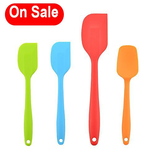 4 piece spatula set - 8