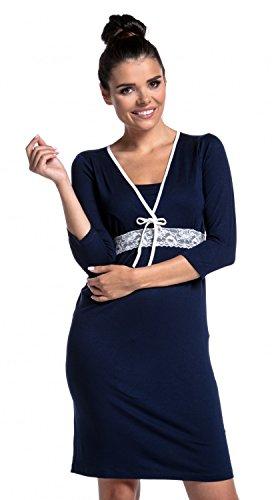 Marina Ville da prémaman 255c notte camicia Zeta donna Allattamento gravidanza Swz1zqAP7