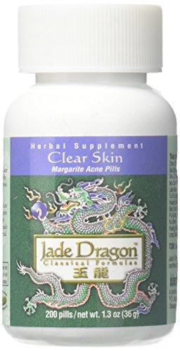 (Clear Skin or Margarite Acne Pills, 200 Pills, Teapills)