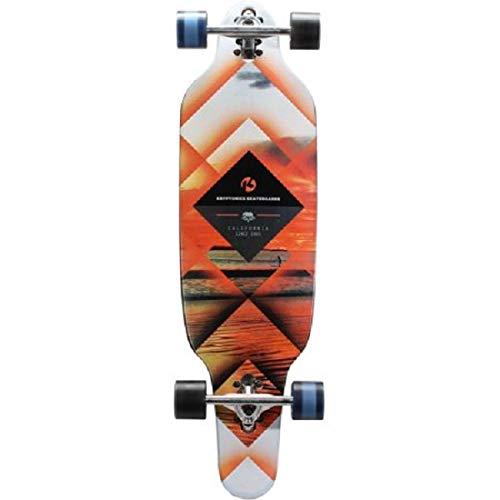 Kryptonics 163911 Longboard Complete Skateboard (37
